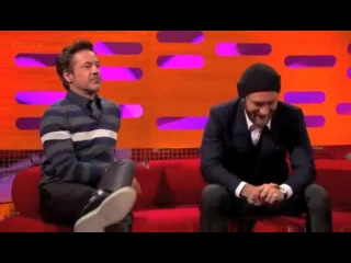 The Graham Norton Show. Jude Law &  Robert Downey Jr.